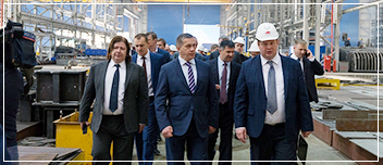 RF MINISTER FOR FAR EAST DEVELOPMENT VISITED BOLSHOY KAMEN TERRITORY OF ACCELERATED DEVELOPMENT